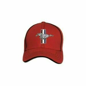 Mustang Flex Fit Hat - 3 Colors & 2 Sizes to Choose - Quality Ford Licensed Item