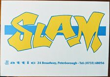 Slam at the Attic 1991 Acid House Rave Flyer