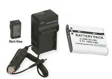 LI-50B Battery +Charger for Olympus TG805 TG810 TG610 XZ1 SZ-11 SZ30MR SZ10 SZ20