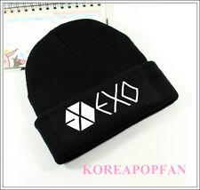 EXO EXO-M EXO-K MAMA SEHUN KAI LAY XIUMIN LUHAN BLACK KPOP KNIT CAP HATS NEW