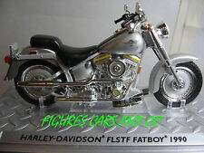 MOTO  1/24 HARLEY DAVIDSON FLSTF FATBOY 1990