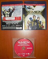X-Men: Primera Generación (First Class) [Blu-Ray Region B] McAvoy, Fassbender