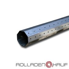 (5,90€/m) Achtkant Stahlwelle SW60 1,2m Rolladenwelle Welle Motorwelle Rolladen