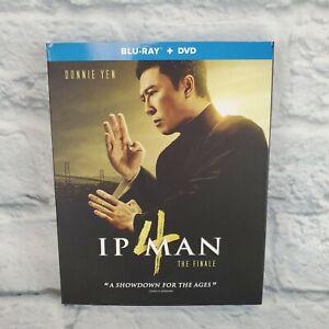Ip Man 4 Donnie Yen Blu-Ray + DVD