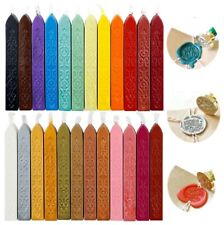 More details for traditional wax sealing sticks wick letters stamp seal melting candle envelope
