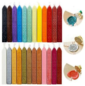 Traditional Wax Sealing Sticks Wick Letters Stamp Seal Melting Candle Envelope