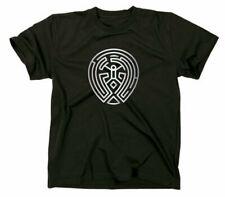 Westworld The Maze Labyrinth Logo Zeichen Sign T Shirt Fanshirt Fan TV Serie