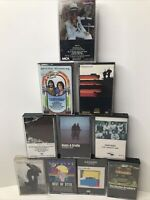 Lot of 10 - Classic Rock Cassettes CHICAGO STYX STEELY DAN ELTON JOHN DOOBIE FS