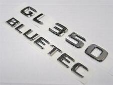 OEM 2010-2016 Mercedes Benz GL350 GL 350 & BLUETEC Rear Chrome Emblem Logo Badge