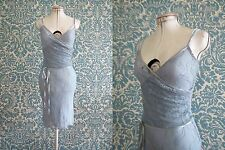 Review Powder Blue Lace Slip Dress Size 6 XS Buy 3+Items for FREE Postage