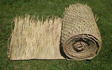 """TIKI BAR PALAPA PALM GRASS THATCH 2- 36"""" X 60FT COMM GRADE ROLLS RUNNER"""