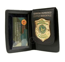 Portafoglio Portadocumenti con Placca Guardia Faunistico Zoofilo Ambientale