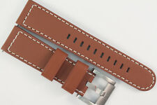 TW Steel Marc Coblen Edition Uhrenarmband 22mm Bobustes, Weiches Leder Braun