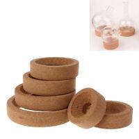 80-160mm Flask Laboratory Bottle Cork Stand Ring Holder Round Bottom Supplies