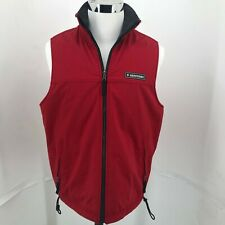 Abercrombie & Fitch Red Ski Winter Full Zip Vest MENS SIZE M