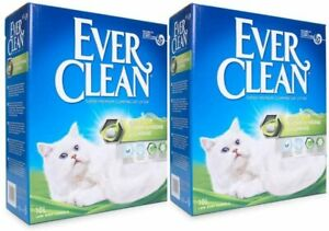 Ever Clean Extra Strong Clumping Cat Litter Scented 2x10L - Extreme Premium Lock