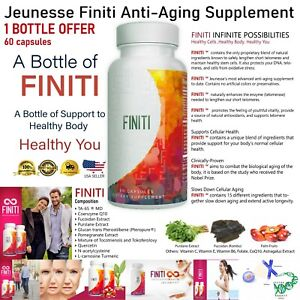Jeuness FINITI 1 Bottle 60 capsules DNA REPAIR  supplement Exp 2022