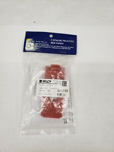 Brady 65392 Wall Switch Lockout, Red, Polypropylene