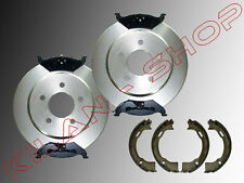 2 Bremsscheiben & Bremsklötze Handbremsbacken hinten Chrysler Stratus  1995-2000