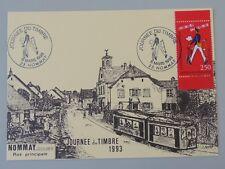 France carte 1er jour journée du timbre 6 mars 1993 25 nommay 2791