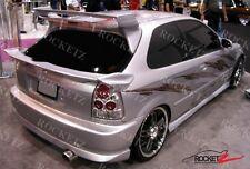 96-00 Honda Civic Vader Style Mid Spoiler Wing 3DR Hatchback CANADA USA