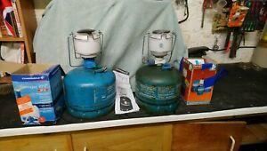 Camping Gaz Campingaz Butane Lamp Light Gas Lantern Lumogaz X2