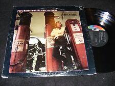 Loner Folk/ Psych PAUL MASSE Motels & STATIONS LP Liberty Records Issue ADANCE