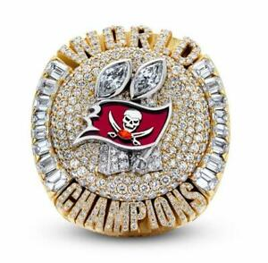Official 2020 2021 Tampa Bay Buccaneers Super Bowl Championship Ring 8-13Size