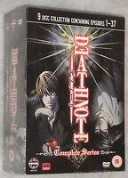 Death Note Complete Box Set 9 DVDs - UK R2 NEW & SEALED