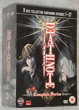 Death Note Complete Box Set 9 DVDs - UK R2 NEW & SEALED