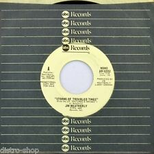 """7"""" Jim Weatherly ex the Gordian Knot storms of Troubled times ABC 45rpm USA 1976"""
