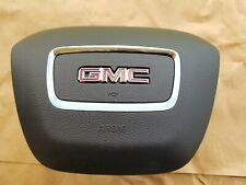 84624313 18-19 GMC ACADIA AIR BAG LEFT LH DRIVER WHEEL BLACK AIRBAG