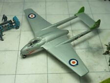 de Havilland Vampire FB.5 112 Sqn RAF 1/72 kit built & finished for display