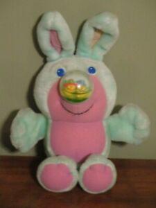 VTG 1989 Playskool Plush Easter Nosy Bear Bunny Rabbit HTF