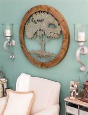 Wooden Rustic/Primitive Wall Sculptures | eBay