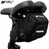 BV Bicycle Medium Y-Series Strap-On Saddle Bag Bike Seat Rear Pouch NEW BV-SB2-M