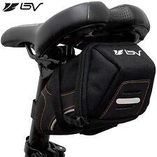 BV Bicycle Medium Y-Series Strap-On Saddle Bag Bike Seat Rear Pouch NEW BV-SB2-M
