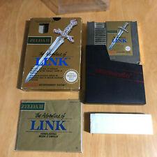Nintendo NES Boxed Complete - Zelda II 2 The Adventure of Link PAL B AL-FRA RARE