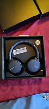 Sony WH-XB700 EXTRA BASS Wireless Headphones - Blue on ear
