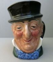 "Vintage 3.25"" Royal Doulton Toby  -Mr. Micawber Character Mug - A Mark"