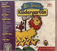 Dr Seuss Kindergarten Pc Mac Brand New XP