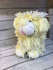 """Vtg Yellow Fluppy Dog Plush Disney Kenner 12"""" VGC"""