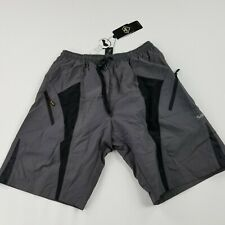 Santic Bicycle Bike Shorts Casual Shorts with Pad Gray Leisure Large