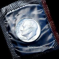 1961 D Roosevelt Mint Dime from U.S. Mint Set in Mint Cellephane