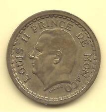 MONACO -- Pièce de 1 Franc Louis II