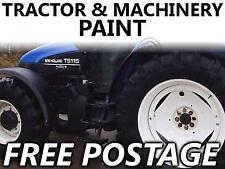 Tractor Agri Enamel Paint New Holland White Wheel 1LT