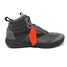Vans UltraRange Hi Peat Black Men's 7.5 Women's 9 Shoes Gray Hiking Grey New