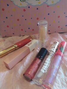 Lipgloss Lippenstift Set, Mary Kay, NYX, Maybelline, Jungle Rock, Essence