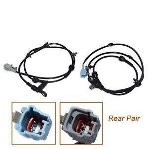 Pair Rear LH RH ABS Wheel Speed Sensor for Nissan Quest 47901-CK000,47900-CK000