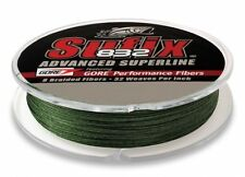 Sufix 832 Advanced Superline Lo Vis Green 300yd 8lb Test Fishing Line 660-108G